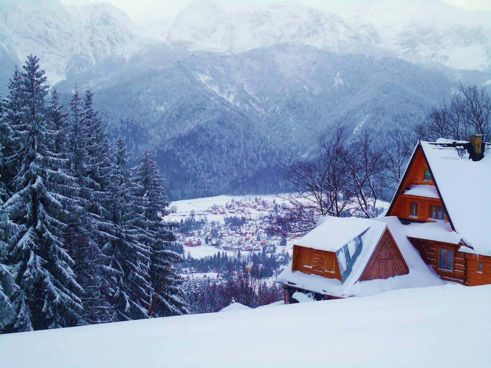 Картинки на рабочий стол зимний отдых
